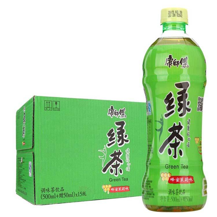 康师傅500ml绿茶5