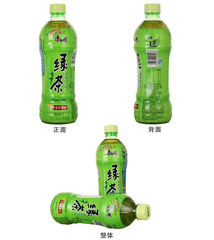 康师傅500ml绿茶6