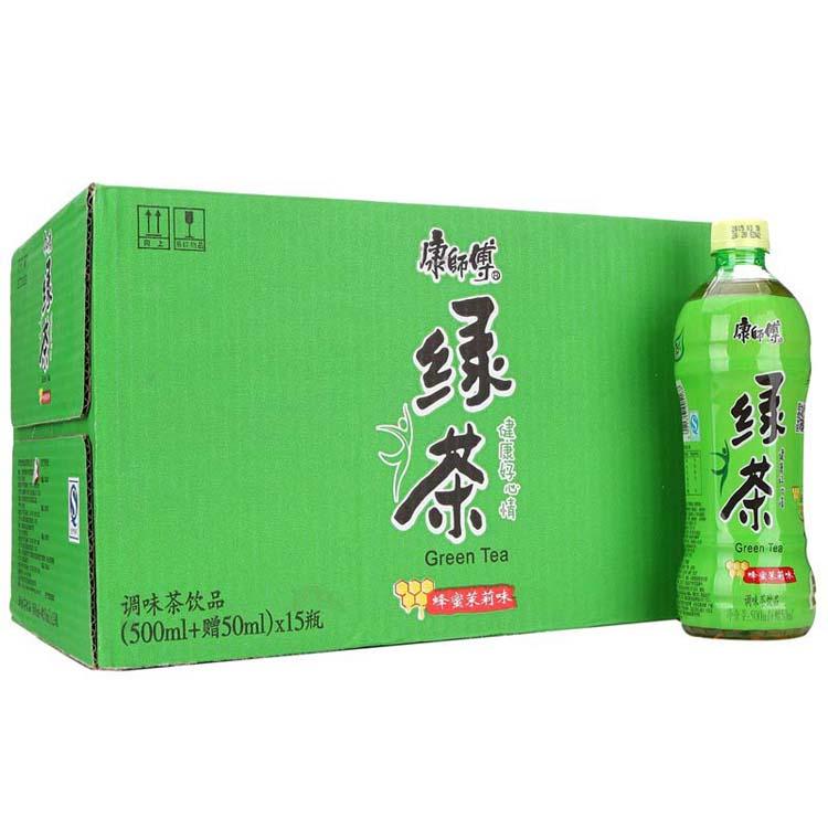 康师傅500ml绿茶3