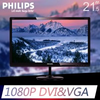 飞利浦(PHILIPS)227E4LSB LED背光宽屏液晶显示器(21.5英寸)